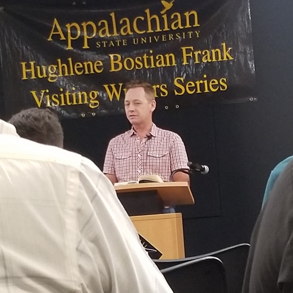 Silas House at the Hughlene Bostian Frank Visiting Writers Series