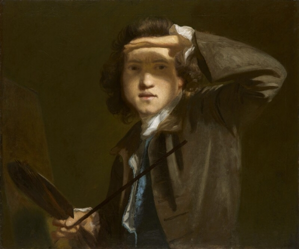 Joshua Reynolds, Self Portrait, ca. 1747-49