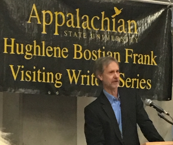 Ron Rash at the Visiting Writers Series