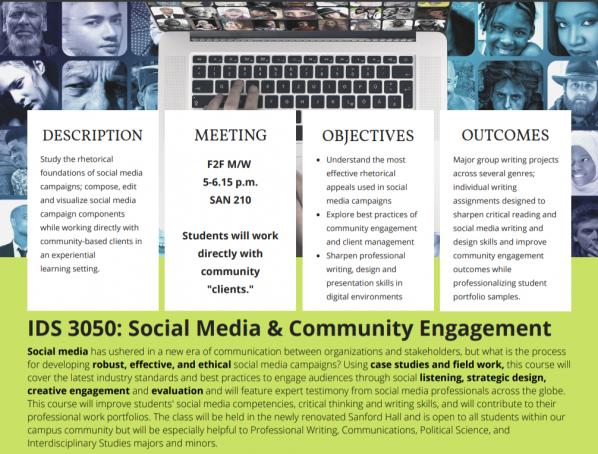 IDS 3050: Social Media & Community Engagement