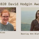 David Hodgin Award Winners