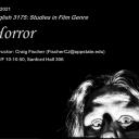 English 3175: Studies in Film Genre