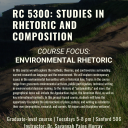 RC 5300: Studies in Rhetoric and Composition