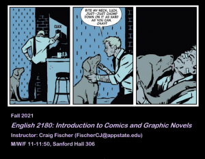 English 2180: Introduction to Comics and Graphic Novels