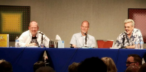 Picture of Craig Fischer, Chris Ware, and Eddie Campbell
