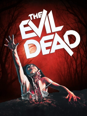 Movie poster for The Evil Dead.